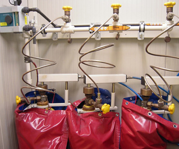Chloration sous pression